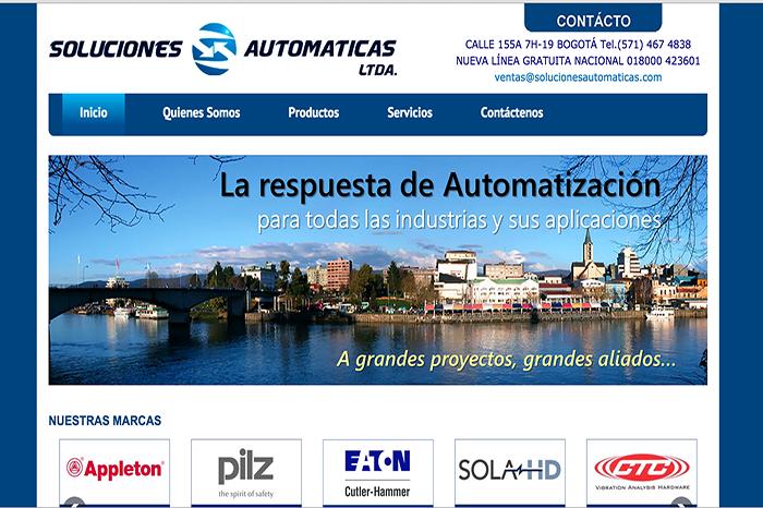 Soluciones automaticas Web